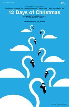 Gil Shuler Graphic Design for Charleston Ballet Theatre