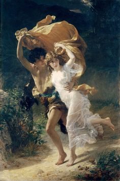 Pierre-Auguste Cot (French, 1837-1883), The Storm, 1880, Oil on canvas, Metropolitan Museum of Art, New York