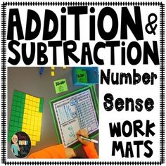These work mats are great, my students love doing double digit addition and subtraction when they use these mats. This product includes addition and subtraction problems with and with out regrouping. As well as several different options for solving double digit addition and subtraction. Related Products ⭐️ 2.OA.2 Math BUNDLE ⭐️ Addend and Sum ⭐️ Addition and Subtraction within 2, ⭐️ Array Task Cards ⭐️ Blank 1,, 2, and 1,, frames ⭐️ Daily Math Practice ⭐️ Double Digit