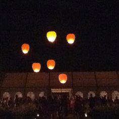Mariage aux lanternes
