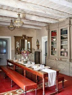 sala da pranzo stile provenzale 23