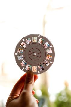 I've always loved the idea of custom view master reels - since I grew up with my parents' wedding ones.
