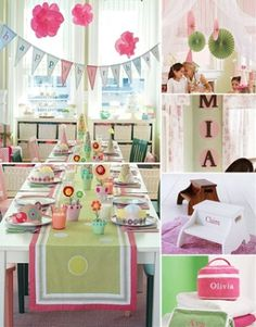 Boys and Girls birthday party themes by Pottery Barn Kids | At Home with Kim Vallee