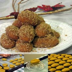 A cooking recipe, a travel story and a hint of science… All spinning around food ! Greek Sweets, Greek Desserts, Greek Recipes, Xmas Food, Christmas Sweets, Christmas Cookies, Greek Cookies, Xmas Desserts, Chocolate Sweets