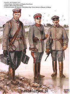 German army 1914 | Book: https://ospreypublishing.com/the-german-army-in-world-war-i-1