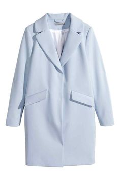 Cappotto | H&M -- My new favorite spring color light blue