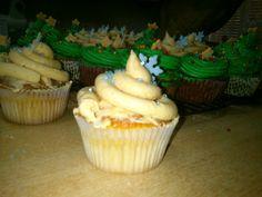 Cupcakes de turrón jijona