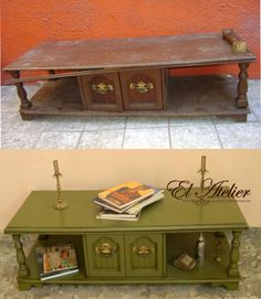 1000+ images about Muebles restaurados on Pinterest  Mesas, Puertas and Tost...