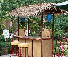 Tiki Bar Hut Luau Pinterest Tiki bars Tiki hut and Bar