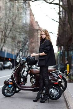 Image result for vespa woman