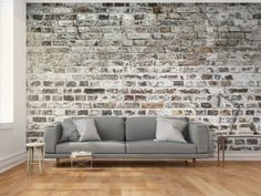 Papier peint moderne Old Walls Faux Brick Wall Panels, Old Brick Wall, Faux Brick Walls, Old Wall, Tile Accent Wall, Stone Accent Walls, Accent Wall Bedroom, Brick Wallpaper Peel And Stick, Wallpaper Brick Wall