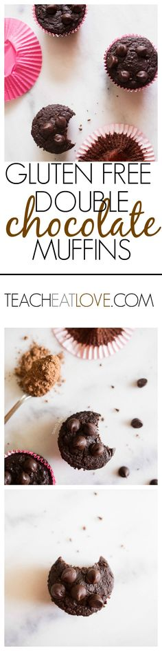gluten free (that doesn't taste gluten free) + loads of chocolate = perfect. www.teacheatlove.com