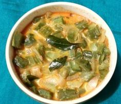 Beerakaya Paalu - Ridge Gourd Curry with milk
