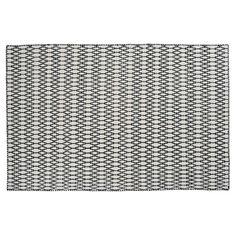 Elliot Matta 140x200cm, White/ Black 2185 kr. - RoyalDesign.se