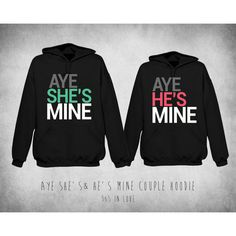 Cute Matching Hoodies Sweatshirts for Romantic Couple - Black... ($68) ❤ liked on Polyvore featuring tops, hoodies, sweatshirts, shirts, jackets, sweaters, couple, sweatshirt hoodies, disney hoodie and hooded pullover
