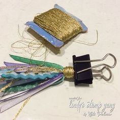 Make Your Own Custom D.Y Ribbon Planner Tassel (Sparkle Tart by Kate Palmer) Diy Tassel, Tassel Jewelry, Diy Ribbon, Ribbon Crafts, Biscuit, How To Make Tassels, Candy Cards, Pocket Letters, How To Dye Fabric