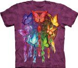 The Mountain Rainbow Butterfly Dreamcatcher Adult T-shirt - http://tonystshirts.com/the-mountain-rainbow-butterfly-dreamcatcher-adult-t-shirt/