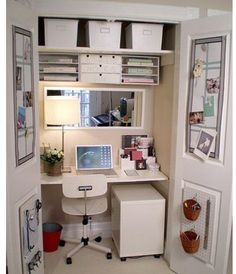 1000 images about hidden office on pinterest office table offices and office nook - Coin bureau ontwerp ...