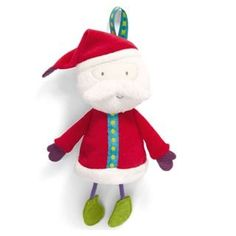 This Santa chime toy can be hung anywhere and is cuddly and soft for your baby Christmas Toys, Christmas 2014, Christmas Ornaments, Mamas And Papas, Prams, Kids Decor, Decoration, Baby Gifts, Infant