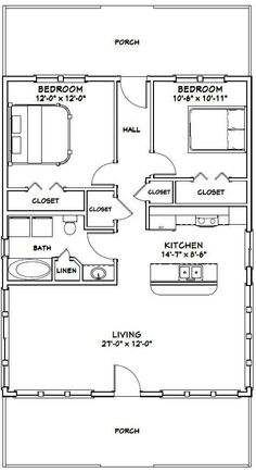 PDF house plans, garage plans, & shed plans. #PoleShedPlan