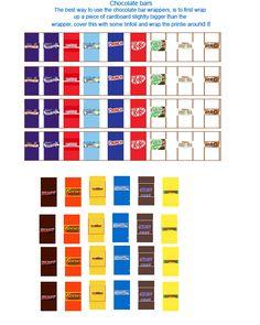 Free Printable Dollhouse candy printables 3