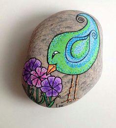 Green  rock bird