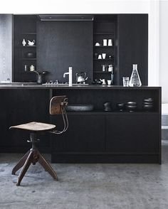 Black Kitchen - Cuisine noir