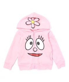 Look at this Yo Gabba Gabba! Foofa Hoodie - Infant, Toddler & Girls on #zulily today!