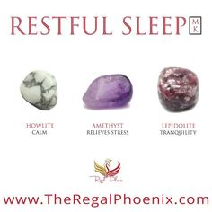 The Restful Sleep Mini Kit, handpicked by The Regal Phoenix is a beautiful combination of Howlite, A Crystal Guide, Crystal Magic, Crystal Healing Stones, Stones And Crystals, Crystals For Healing, Minerals And Gemstones, Crystals Minerals, Crystals For Sleep, Crystal Meanings