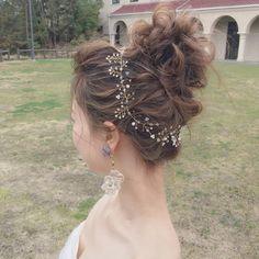 インスタで人気のカリスマ美容師yuu.rireさんの花嫁ヘアが可愛い | marry[マリー]