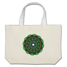 Circular Ornaments 3 Jumbo Tote Bag