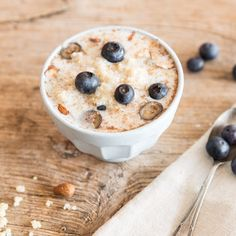 Quinoa-Porridge mit Blaubeeren