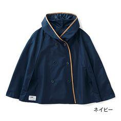 気軽な雨の日コーデ 雨をちょいしのぎバッグもカバーできる ポレンチョの会(3回限定コレクション)|フェリシモ
