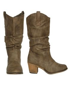 Mid Calf Cowboy Boot - Teen Clothing by Wet Seal - StyleSays