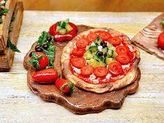 Pizza Italia 1:12 casa delle bambole  Pomodoro di PiccoliSpazi