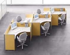 Modular Office Furniture Manufacturer in Mumbai (Call: Modular Office Workstations manufacturer in Mumbai - Conference Table Manufacturer In Mumbai - Modular Furniture For Office In Mumbai - Cubicle Workstation Manufacturer in Mumbai - Modula Yellow Office Furniture, Office Furniture Design, Modular Furniture, Office Interior Design, Office Interiors, Chair Design, Furniture Ideas, Furniture Online, Modern Office Chairs