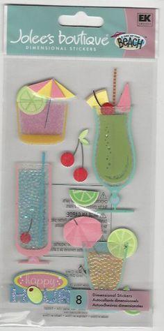 U CHOOSE Assorted Jolee's FOOD & DRINK LONG 3D Stickers coffee ice cream apron | eBay