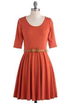 Perfect Barn Days dress if you add some cowboy boots! Or ad a chunky cardi for Fall in the City.
