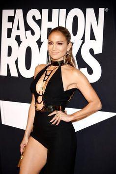 Jennifer Lopez  no Fashion Rocks