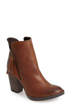 Steve+Madden+'Ryat'+Leather+Ankle+Bootie+(Women)+available+at+#Nordstrom