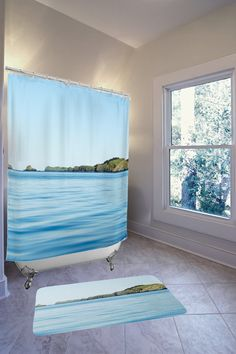 Ocean Bathroom Set  -- Beautiful products like this can be custom made for you by our members at http://DigiColorCreations.com.  -- Produced on demand by DigiColorCreations.com