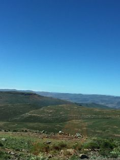 Mountain view from Mants'onyane