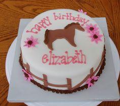 horse themed birthday party | Mani~Pedi Party