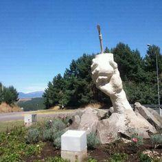 Monumento al mate. Coyhaique.