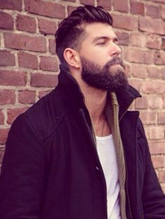 Haircut for men with beards fashion 40 Best Ideas - Haircut for men with beards fashion 40 Best Ideas You are in the right place about medium hair cuts for women wi Medium Beard Styles, Beard Styles For Men, Medium Hair Cuts, Hair And Beard Styles, Mens Medium Length Hairstyles, Mens Hairstyles With Beard, Mens Hair With Beard, Haircuts With Beards, Man With Beard