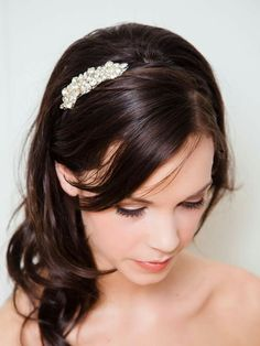 great vancouver wedding Our Petite Celeste Sash has a matching headband. Finished with black elastic or a pretty satin ribbon, this piece makes the sweetest bridesmaid piece. Crystal Headband, Rhinestone Headband, Wedding Headband, Rhinestone Wedding, Grey Ribbon, Wedding Hair Accessories, Hair Band, Headpiece, Wedding Hairstyles