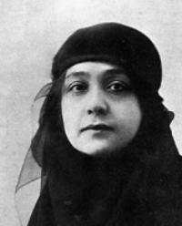 Huda Shaarawi  via Alex's Blog » Feminists Across the Globe. Head scarf/veil/hijab reference.