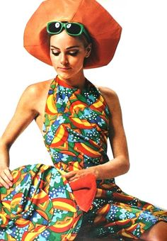 Fashion  May 1967  60's halter tops were pretty cause they didnt show your whole chest....