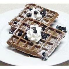 Waffle Iron Brownies Recipe  @Erica Cerulo Byers calls for 1/2 cup butter