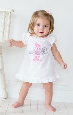 Gorgeous First Birthday Dresses For Baby Girl